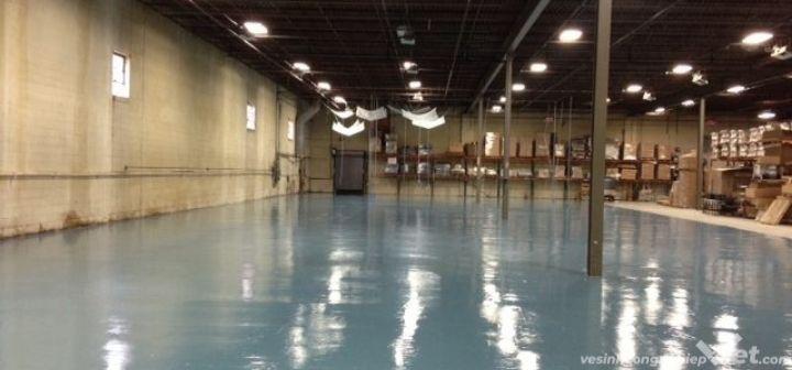 Thi công sơn sàn epoxy nhà xưởng tại Bình Dương và bảng báo giá mới nhất 2021