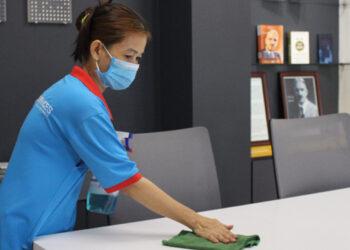 vệ sinh văn phòng DKRA