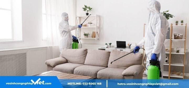 Khử trùng ghế sofa