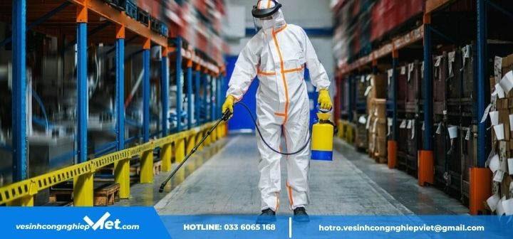 Dịch vụ vệ sinh khử trùng chống lây nhiễm chéo