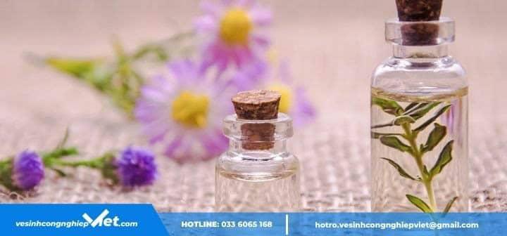 Sử dụng nước hoa để khử mùi