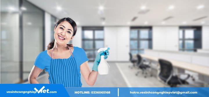Lợi ích dịch vụ vệ sinh văn phòng