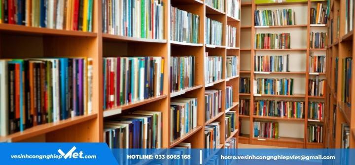 Vệ sinh thư viện