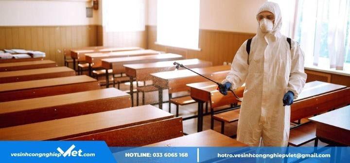 Diệt khuẩn tại trường học