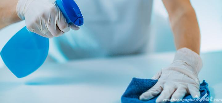 Vệ sinh văn phòng tránh vi khuẩn gây bệnh
