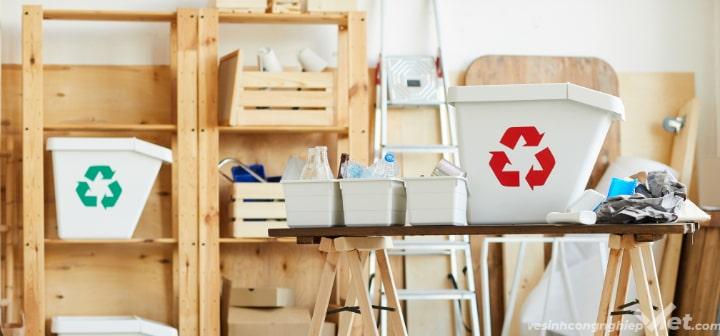 Phân loại rác thải công nghiệp, rác thải sinh hoạt