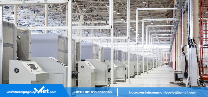 ứng dụng tiêu chuẩn ISO vào nhà máy