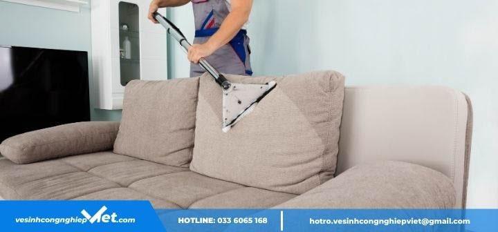 Máy hút bụi sofa sạch nhanh
