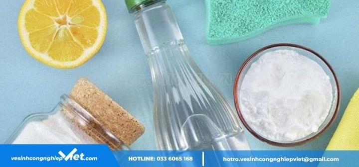 cách rửa sạch dầu nhớt