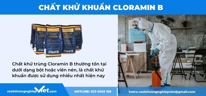 Chất phun khử khuẩn Cloramin B
